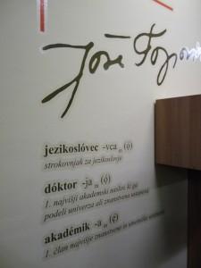 Jože Toporišič jezikoslovec in akademik