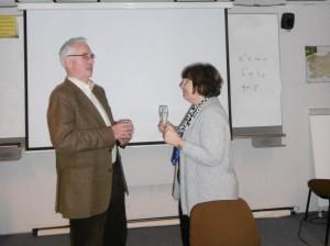 Prof. Raecke in Prof. Derganc