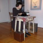 Alma Karlin v galeriji Račka, Celje
